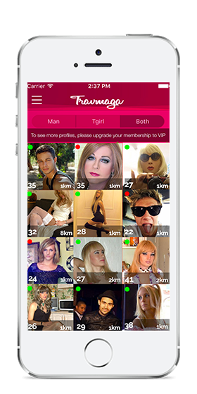 travmaga screen app dating shemale